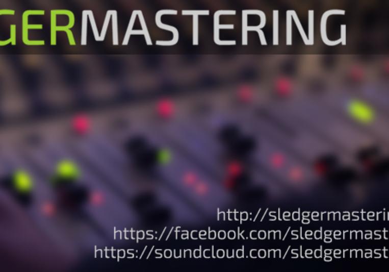 Sledger Mastering on SoundBetter