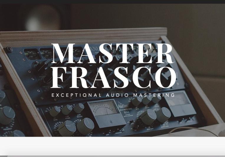 Master Frasco Audio on SoundBetter