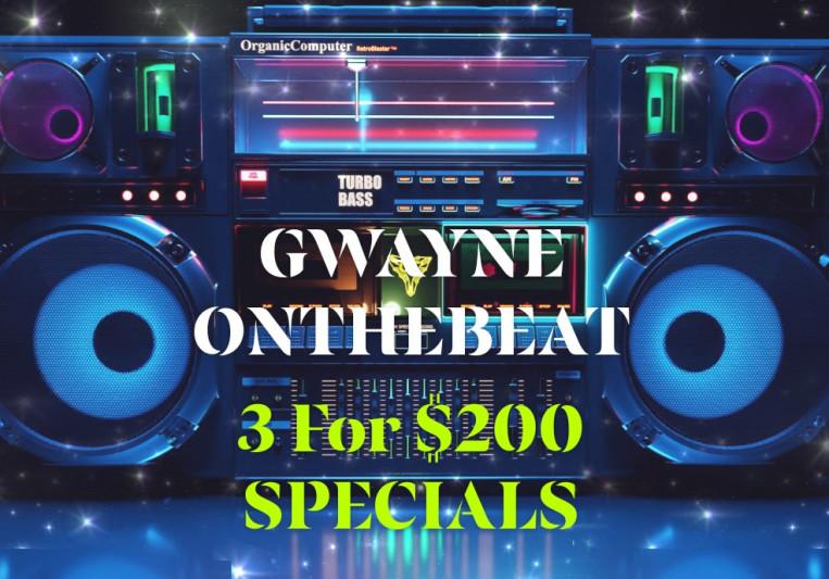 GWAYNEONTHEBEAT on SoundBetter