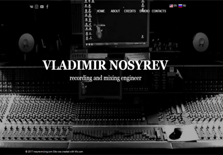 Nosyrevmixing on SoundBetter