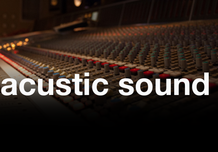 acustic sound on SoundBetter