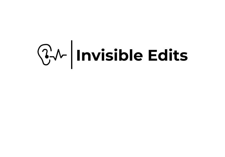 Invisible Edits on SoundBetter