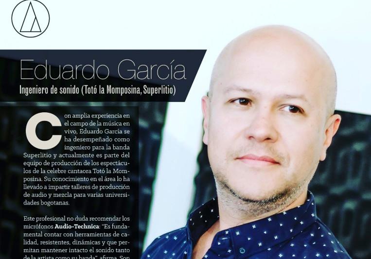 Eduardo A. García on SoundBetter