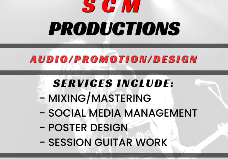 SCM Productions on SoundBetter