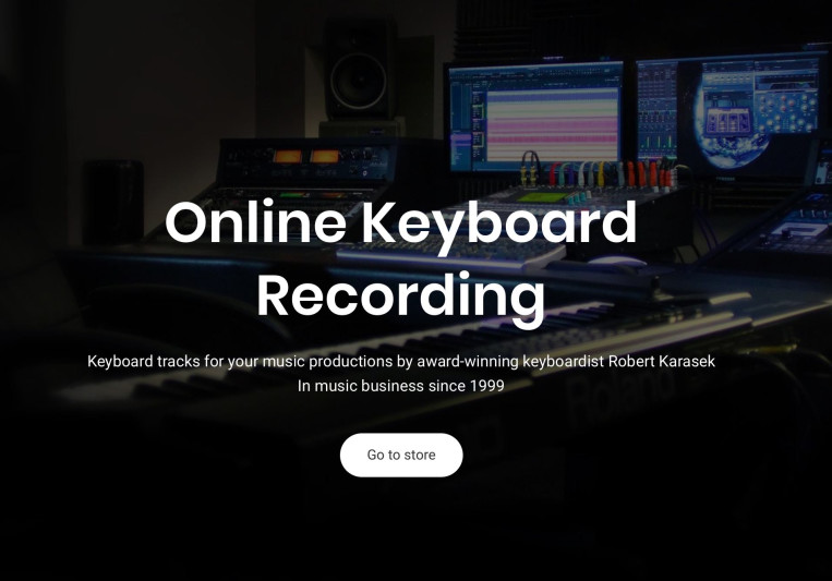 Online Keyboard Recording on SoundBetter