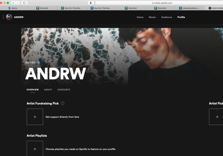 ANDRW on SoundBetter
