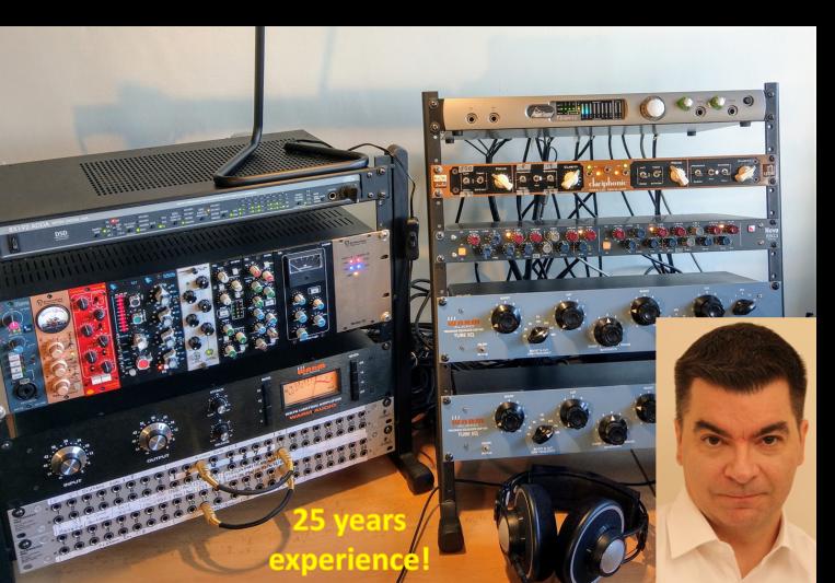 True analog mixing & mastering on SoundBetter