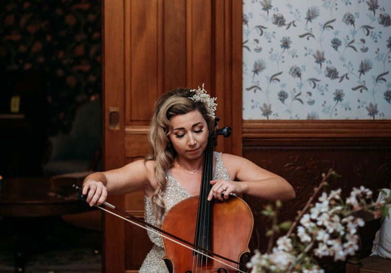 Blessed cellist on SoundBetter