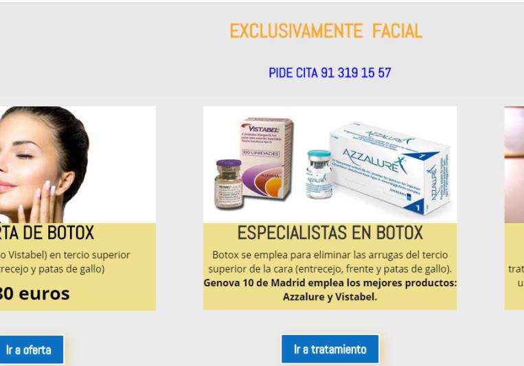 Botox Madrid on SoundBetter