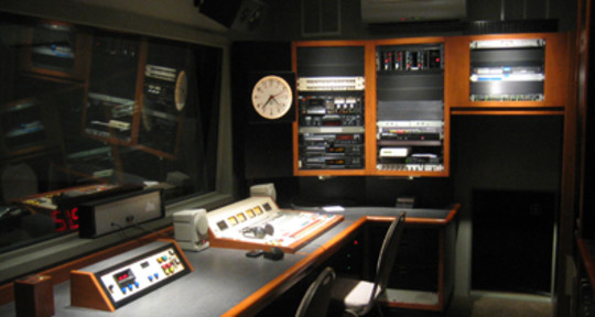 Photo of la radio studio