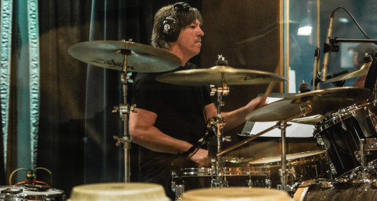 Photo of Peter Young - Session Drummer