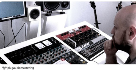 Photo of plug audio mastering