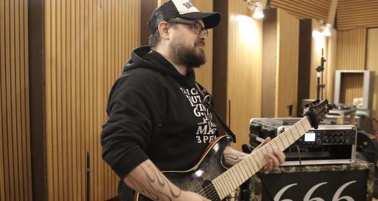 Photo of Greg got 8 strings