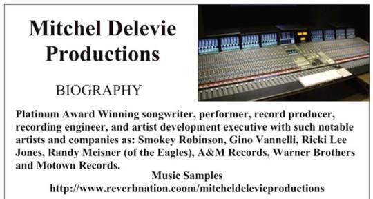 Photo of Mitchel Delevie Audio