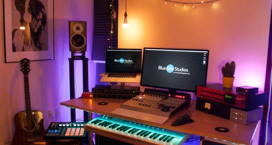 Photo of Olli Daffarn; Blue Dot Studios