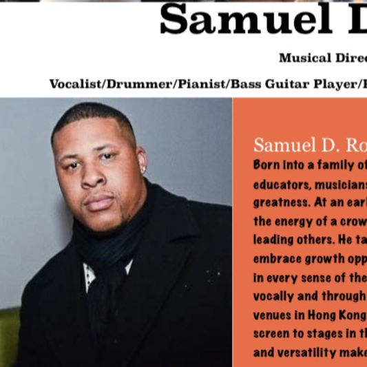 Sam Ross Music on SoundBetter