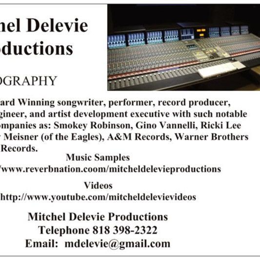 Mitchel Delevie Audio on SoundBetter