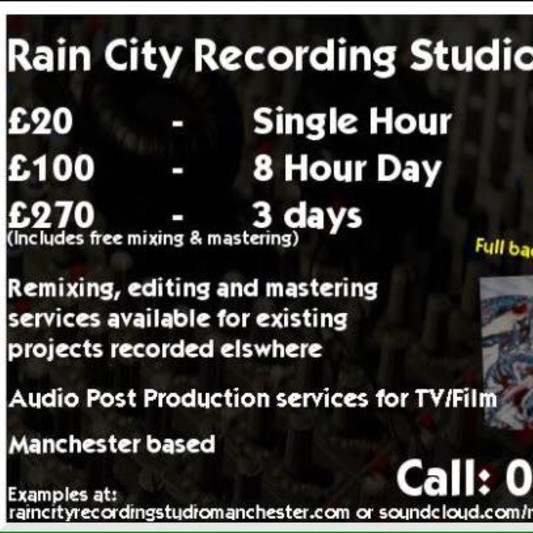 Raincitystudio on SoundBetter