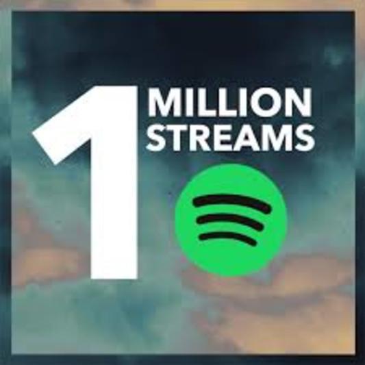 Million Streams on SoundBetter