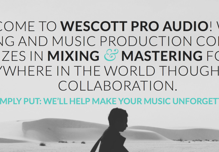 Wescott Pro Audio on SoundBetter