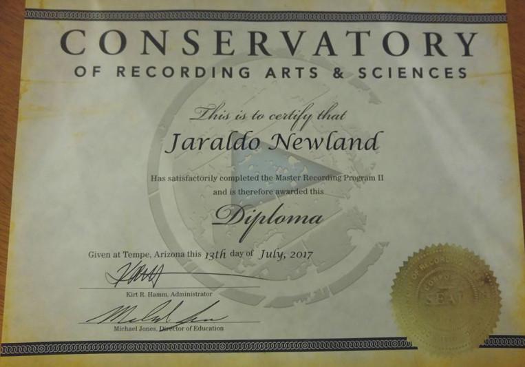 Jaraldo Newland on SoundBetter