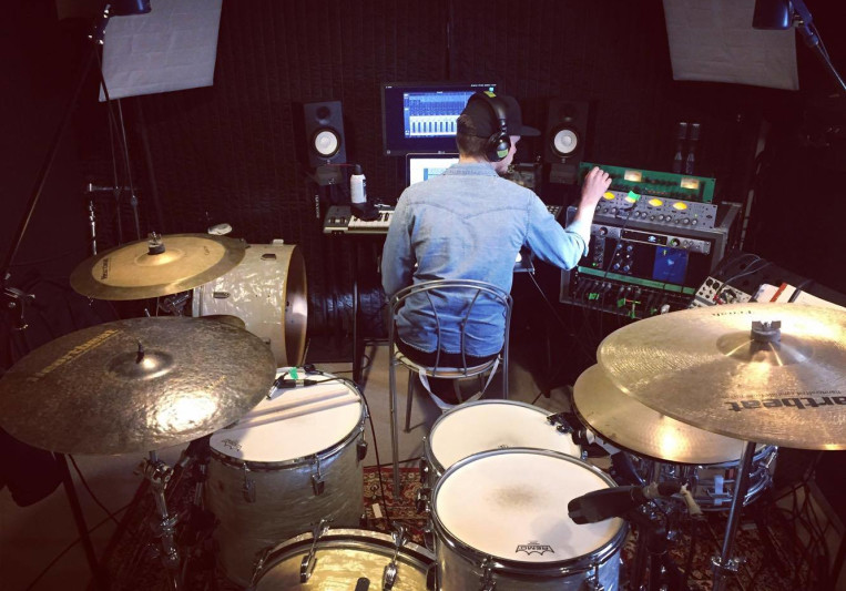 Remote Live Drum Recording on SoundBetter