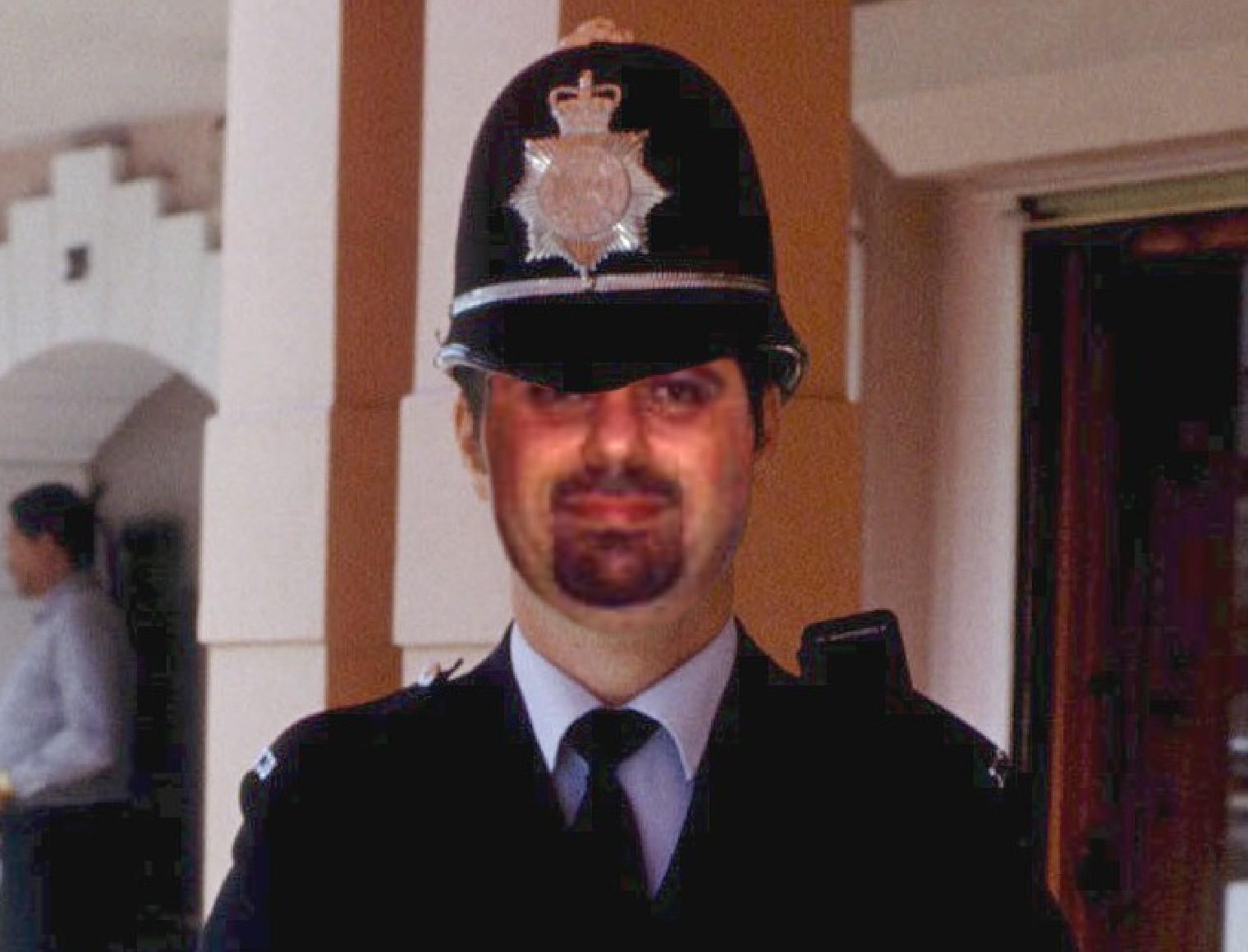 Motky-policeman