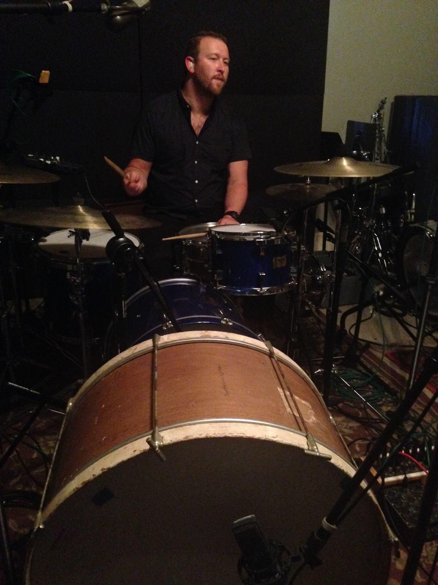Ike_drums