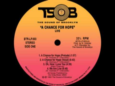Track thumbnail image for Live Band - A Chance For Hope