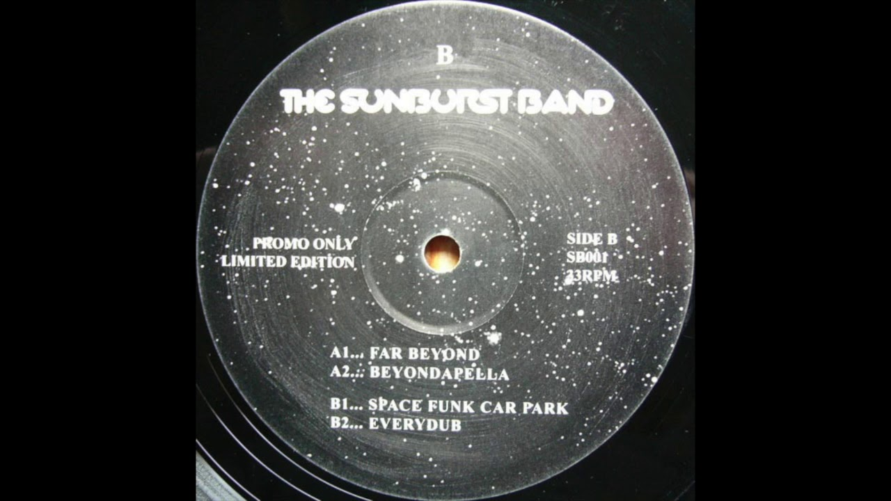 Track thumbnail image for THE SUNBURST BAND - FAR BEYOND (SB001)