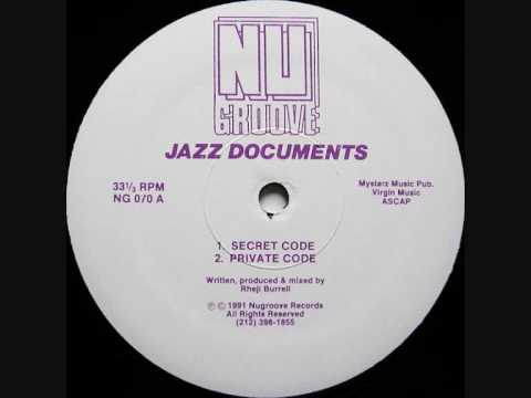 Track thumbnail image for Jazz Documents - Private Code (Rheji Burrell)