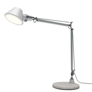 Tolomeo XXL Aluminum (diffuser & Body)grey (base)