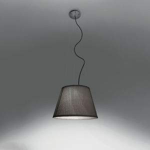 Tolomeo Outdoor Suspension LED  Basalt (diffuser)grey (canopy)