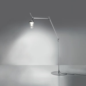Tolomeo Outdoor Lantern Floor Clear (diffuser)aluminum (body & Base)