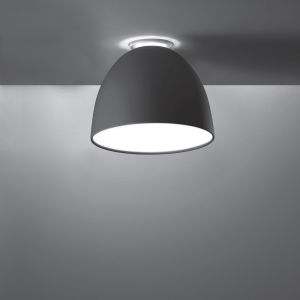 Nur Mini Ceiling LED Anthracite Grey