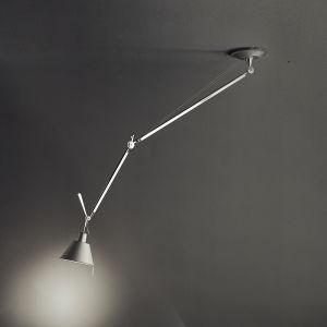 Tolomeo Off-center Suspension Aluminum (diffuser)polished Aluminum (body)matte Aluminum (canopy)