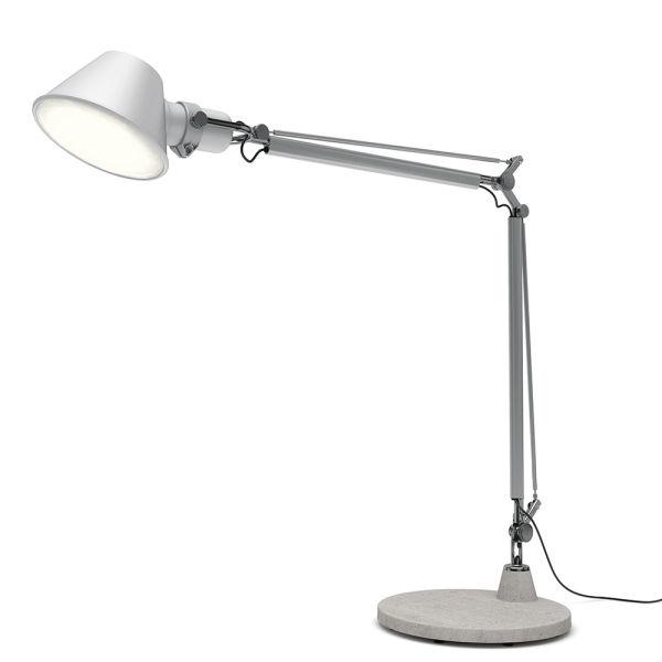 Tolomeo XXL Aluminum (diffuser & Body)grey (base)
