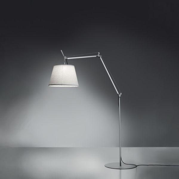 Tolomeo Outdoor Floor LED White (diffuser)aluminum (body & Base)