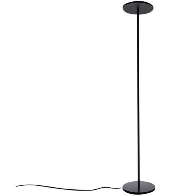 ATHENA FLOOR LED 37W 30K DIM BLACK