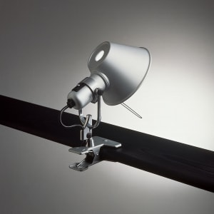 TOLOMEO MICRO CLIP SPOT LED 8W 3K MP-MV ALUM
