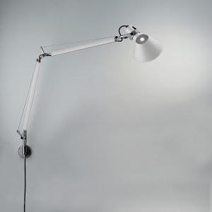 "TOLOMEO CLASSIC MAX 100W E26 WHITE W/""S"" BRACKET(ALU)"