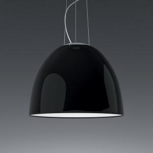 NUR GLOSS SUSP LED 43W 30K DIM 0-10V BLACK UNV EXT 15FT