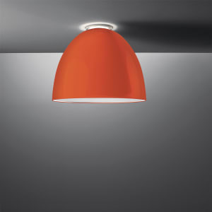 NUR GLOSS CEIL LED 43W 30K DIM 0-10V ORANGE UNV UL