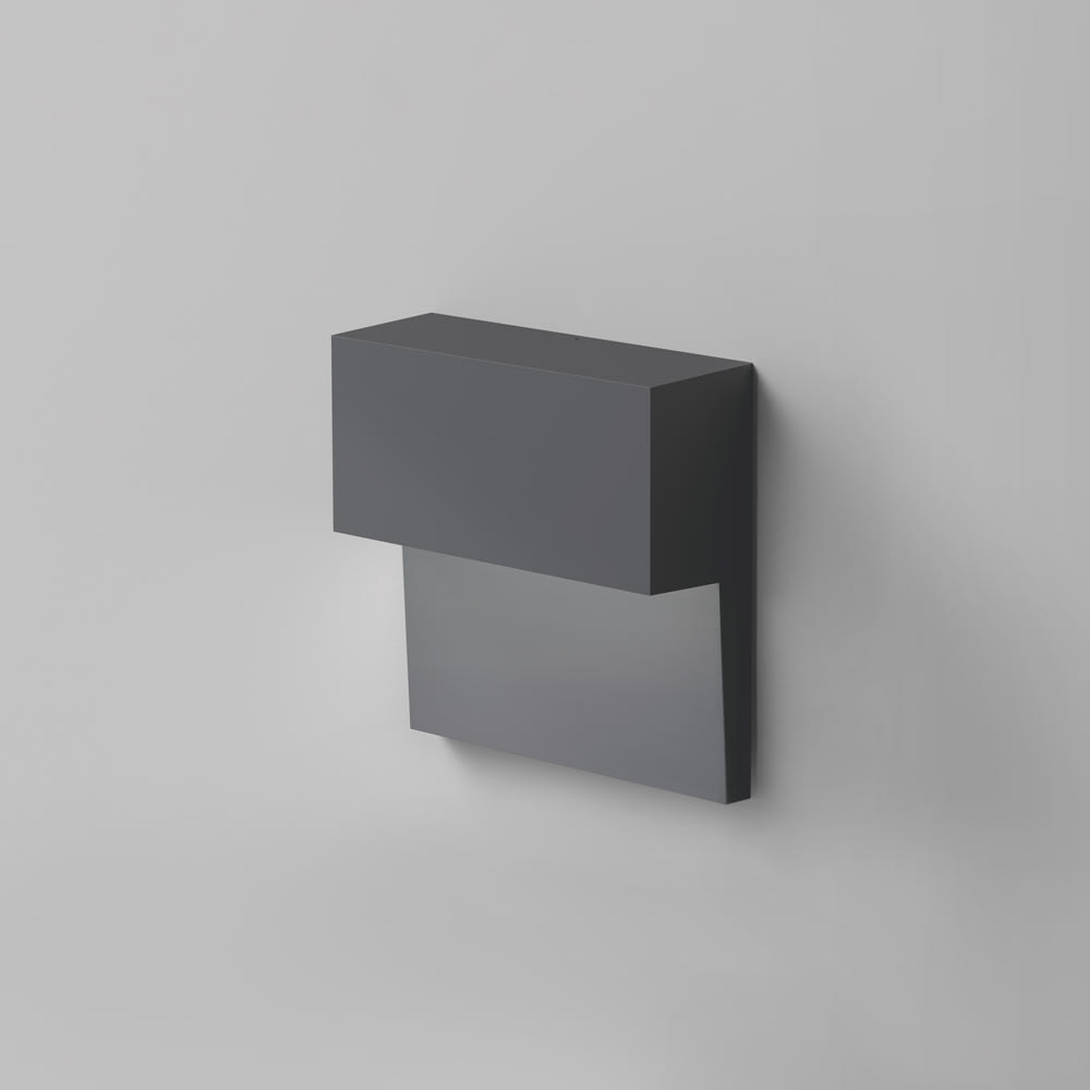 PIANO WALL DIRECT LED 6W 35K 90CRI DIM 2-WIRE ANTHRACITE