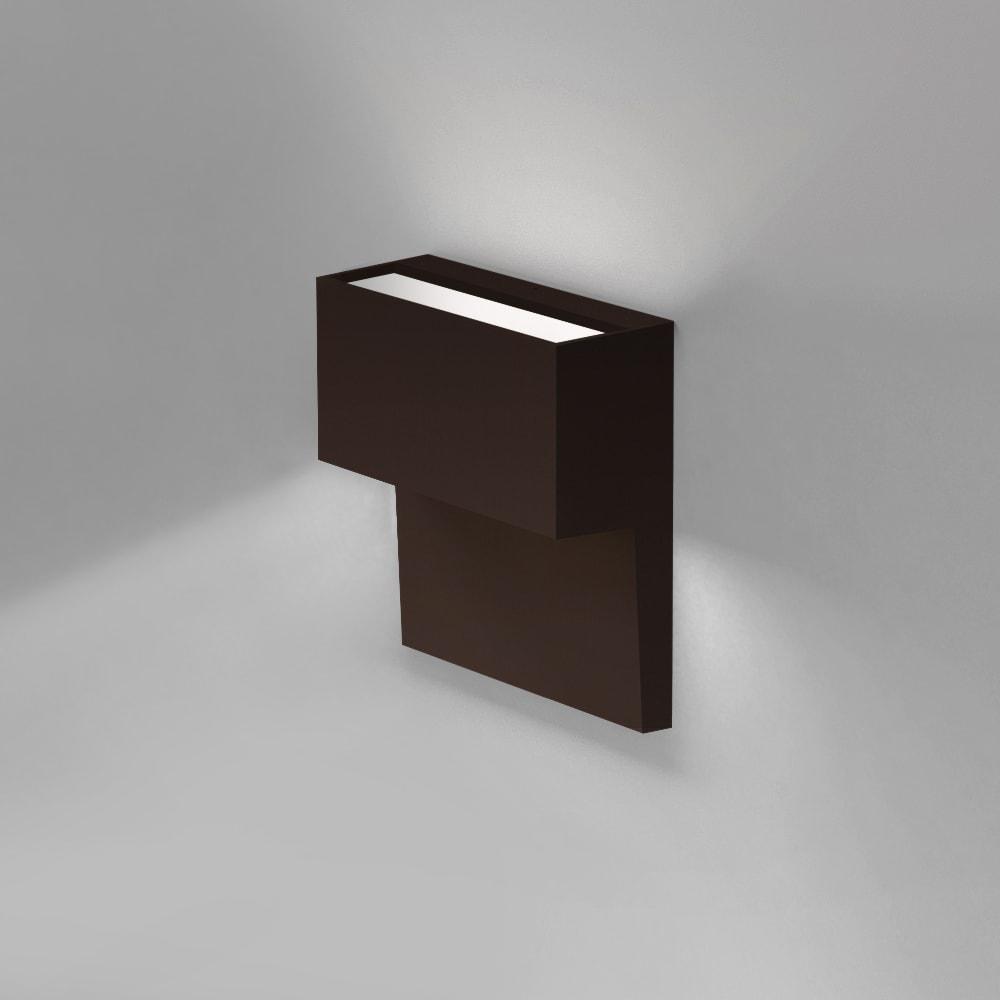 PIANO WALL DIRECT/INDIRECT LED 12W 35K 90CRI DIM 2-WIRE BRONZE