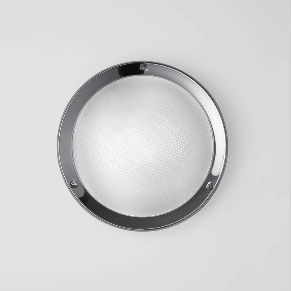 NIKI WALL/CEILING INC 100W E26 POL W/GLASS 120V