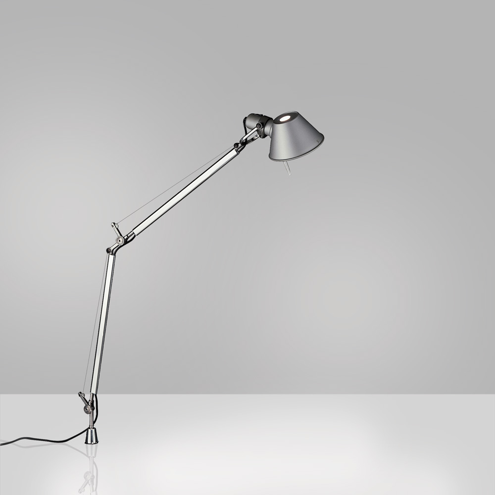TOLOMEO MIDI LED 9W 30K MP-MV ALUM W/IN-SET PIVOT