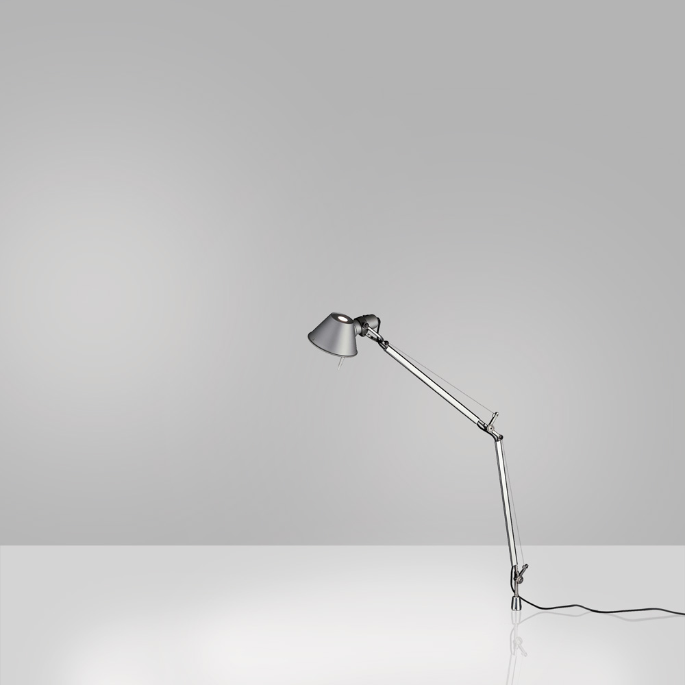TOLOMEO MINI MAX 100W E26 ALUM W/IN-SET PIVOT