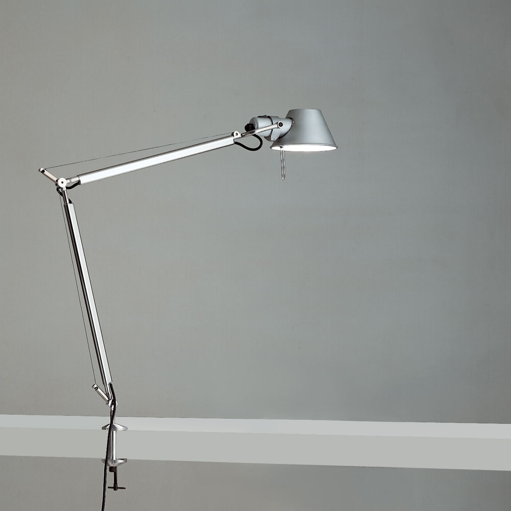 TOLOMEO CLASSIC LED 12W TW MP-MV ALUM W/CLAMP