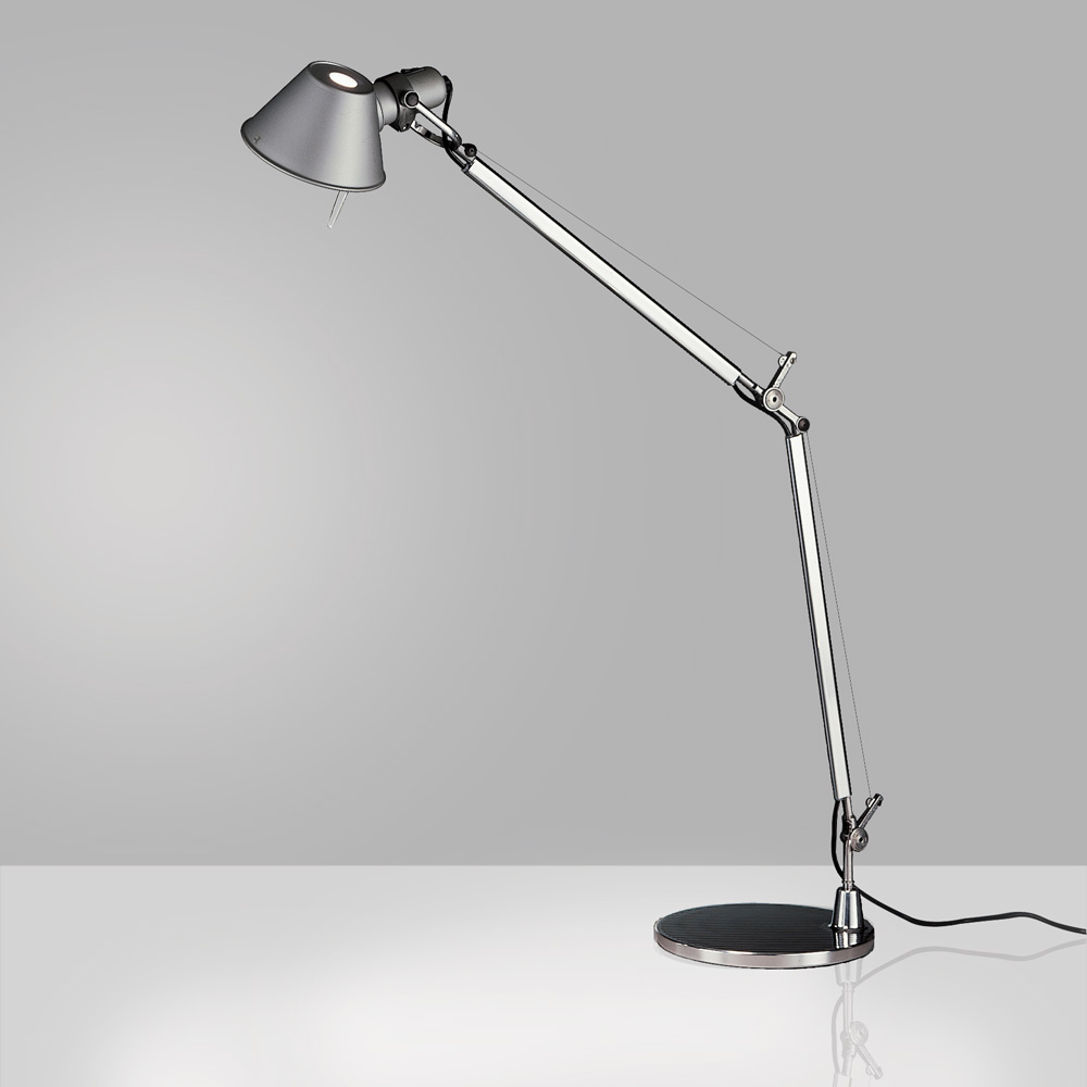 TOLOMEO CLASSIC LED 12W TW MP-MV ALUM W/BASE